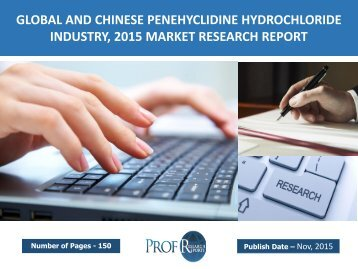 GLOBAL AND CHINESE PENEHYCLIDINE HYDROCHLORIDE INDUSTRY, 2015 MARKET RESEARCH REPORT