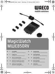MagicWatch MWE850RV - Waeco