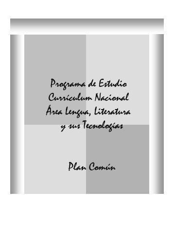 Programa de Estudio Currículum Nacional Área ... - Arandu Rape