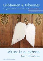 Bestattungsvorsorge - eine Sorge weniger - Evangelisch-lutherische ...