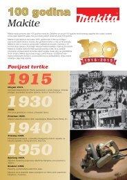 100 godina Makite