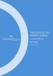 THE STATE OF THE ENERGY UNION