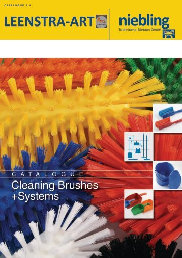 Niebling Cleaning Brushes & Systems