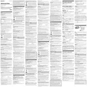 Sony USM1GJX - USM1GJX Istruzioni per l'uso Slovacco