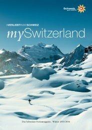 Das Schweizer Ferienmagazin Winter - Deutsch