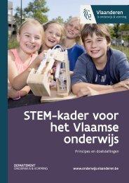 STEM-kader voor het Vlaamse onderwijs