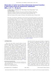 Observation of earlier two-to-three dimensional structural transition ...