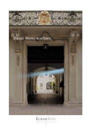 Geschäftsbericht Euram Bank Wien 2010/2011