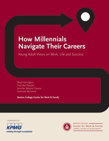 How Millennials Navigate Their Careers