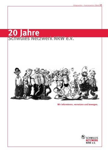 Band 15 - 20 Jahre Schwules Netzwerk NRW