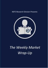 The Weekly Market Wrap-Up