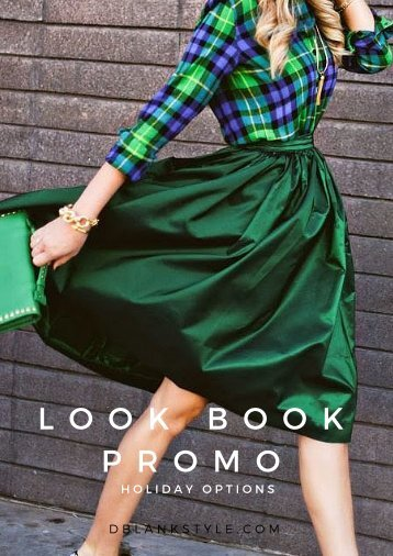 Holiday Look Book Promo!