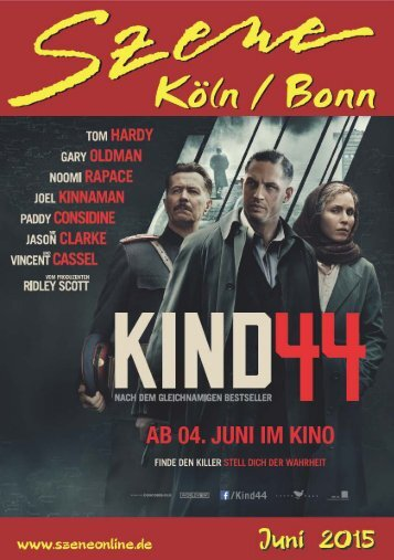Szene Köln-Bonn, Ausgabe 06.2015