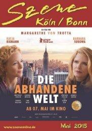 Szene Köln-Bonn, Ausgabe 05.2015
