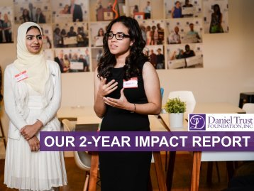 OUR 2-YEAR IMPACT REPORT