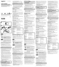Sony MS-A512U - MS-A512U Istruzioni per l'uso Danese