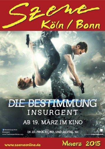 Szene Köln-Bonn, Ausgabe 03.2015