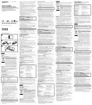 Sony MS-A4GU - MS-A4GU Istruzioni per l'uso Tedesco