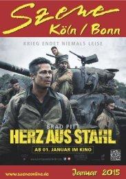 Szene Köln-Bonn, Ausgabe 01.2015