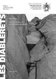 Yves Remy - Club Alpin Suisse - Section des Diablerets
