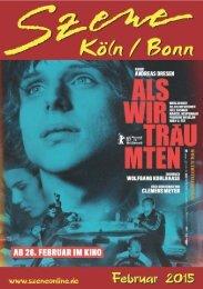 Szene Köln-Bonn, Ausgabe 02.2015