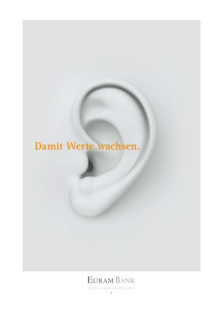 Geschäftsbericht der Euram Bank Wien 2012/2013