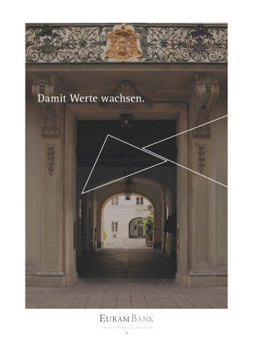 Geschäftsbericht der Euram Bank Wien 2011/2012