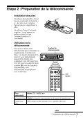Sony SLV-SE250B - SLV-SE250B Istruzioni per l'uso Francese - Page 5