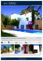 Beautiful Villa On The Exclusive Peninsula Porroig