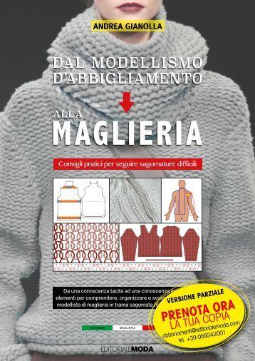 MANUALE MAGLIERIA TRICOT di Andrea Gianolla