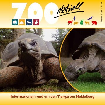 Zoo aktuell 2 / 2012 - Tiergartenfreunde Heidelberg eV