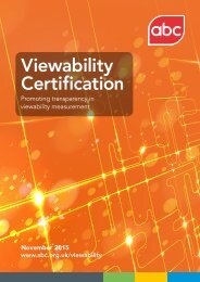 Viewability Certification