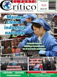 Merma China a industria nacional
