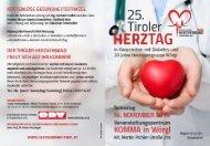 25. Tiroler Herztag (14.11.2015)
