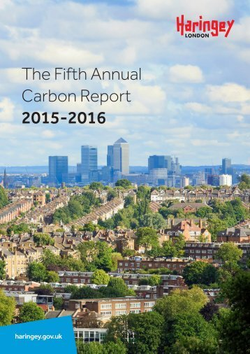 The Fifth Annual Carbon Report 2015-2016