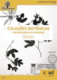 Coleções Botânicas com Enfoque em Herbário