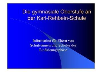 der Karl-Rehbein-Schule