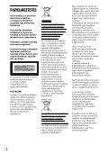 Sony DVP-FX780 - DVP-FX780 Istruzioni per l'uso Ungherese - Page 2