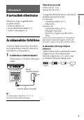 Sony DVP-FX780 - DVP-FX780 Istruzioni per l'uso Ungherese - Page 7