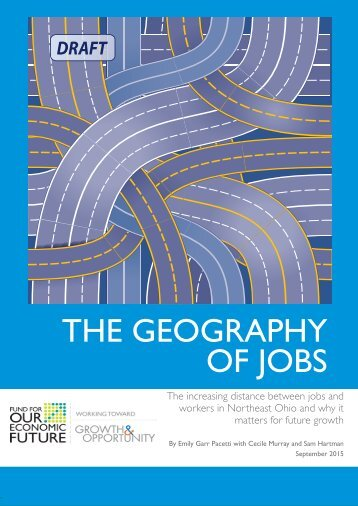 THE GEOGRAPHY OF JOBS