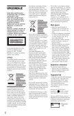 Sony DVP-SR700H - DVP-SR700H Istruzioni per l'uso Serbo - Page 2