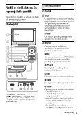 Sony DVP-FX980 - DVP-FX980 Istruzioni per l'uso Sloveno - Page 5