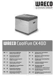 CoolFun CK40D - Waeco