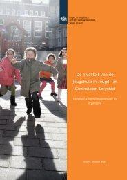 De kwaliteit van de jeugdhulp in Jeugd- en Gezinsteam Lelystad
