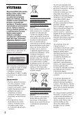 Sony DVP-FX730 - DVP-FX730 Istruzioni per l'uso Slovacco - Page 2