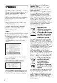 Sony BDP-S4100 - BDP-S4100 Istruzioni per l'uso Croato - Page 2