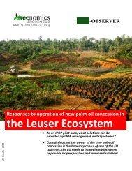 the Leuser Ecosystem