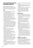 Sony BDP-S1200 - BDP-S1200 Istruzioni per l'uso Lituano - Page 4