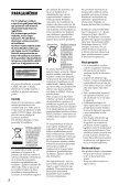 Sony DVP-SR160 - DVP-SR160 Istruzioni per l'uso Albanese - Page 2