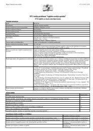 Priekšmeta apraksts PDF formātā - Par RTU